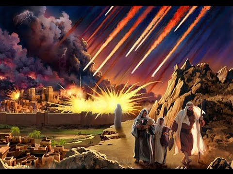 The doom of Sodom...